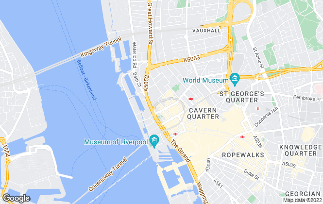 Map for Keppie Massie, Liverpool