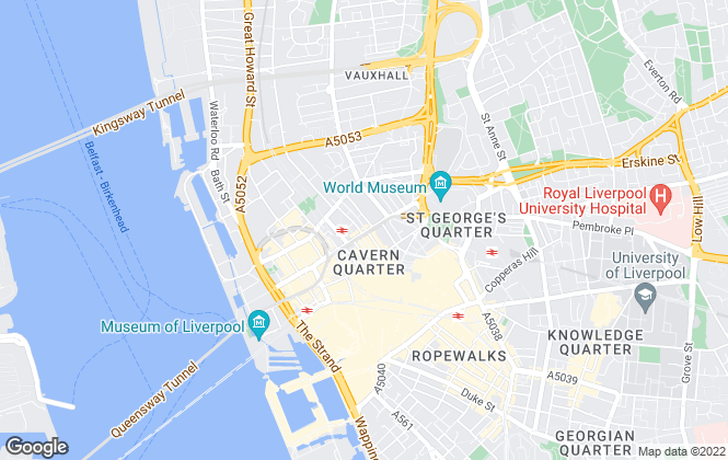 Map for Marshall, Liverpool