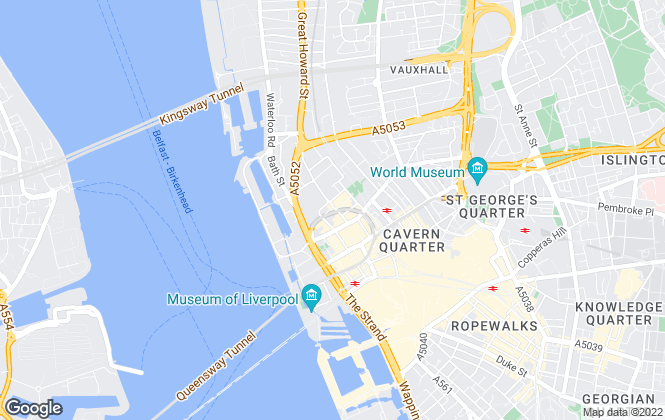 Map for BBL Property Management, Liverpool