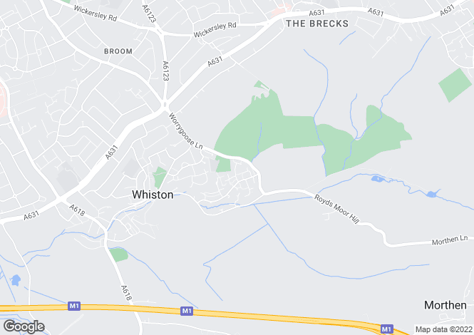 Map for Furnival Way, Whiston, ROTHERHAM, South Yorkshire