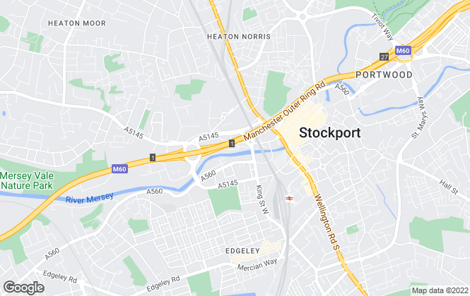 Map for Fairhurst Estates Ltd, Stockport