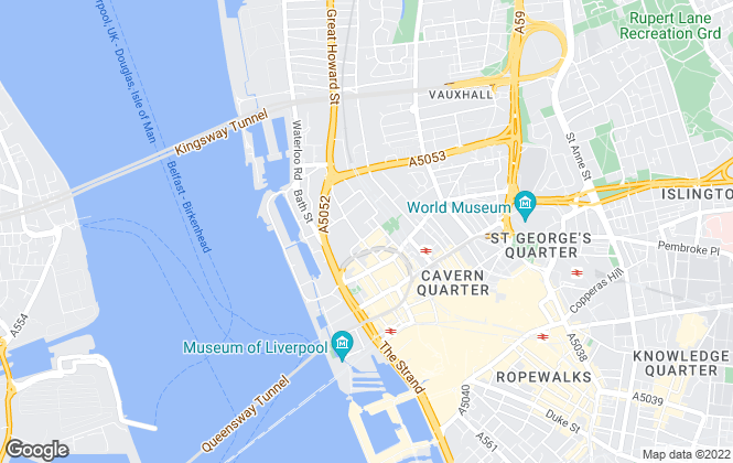 Map for QUBE RESIDENTIAL LTD, Liverpool