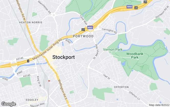 Map for Great Apartments & Homes Ltd, Stockport