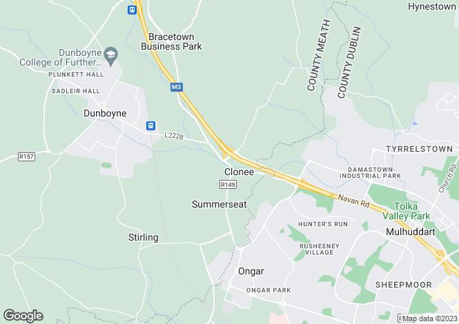 Map for Apt 70 Ard Cluain Block 5 Main Street, Clonee, Meath