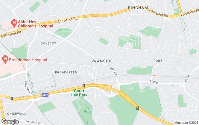 Map for Alpha-Move Ltd, Liverpool