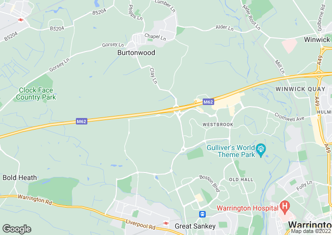 Map for CORNELL at Cleveland Place, Chapelford, Burtonwood Road,