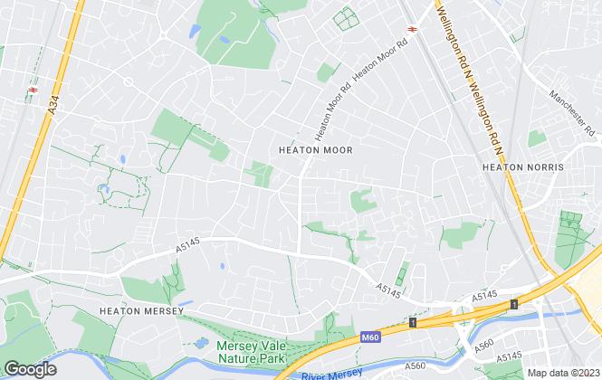 Map for Julian Wadden, The Heatons