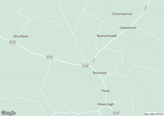 Map for Kilivan, Kilglass, Ahascragh, Ballinasloe, Co. Galway, H53 AK74