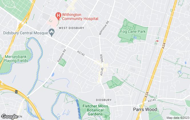 Map for Timco Ltd, Didsbury