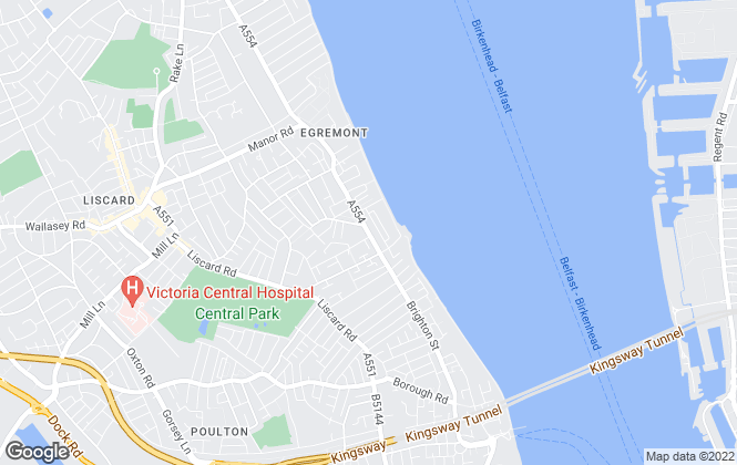 Map for Keystone Property Management, Wallasey