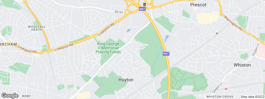 Map for Bellway Homes (North West)
