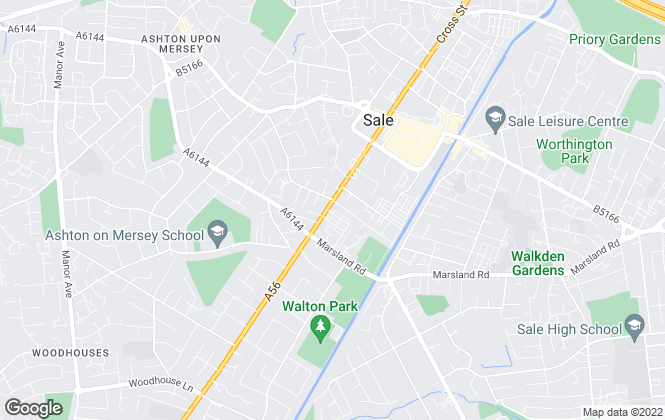 Map for Harrison Oakley Property Services Ltd, Sale