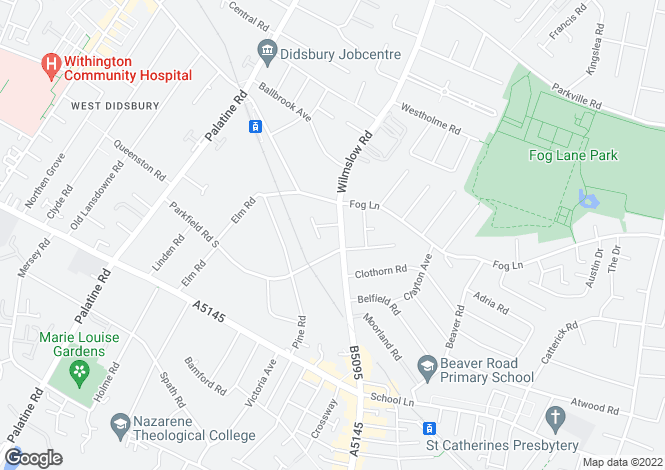 Map for Garswood,