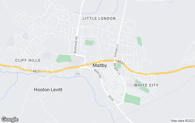 Map for William H. Brown, Maltby