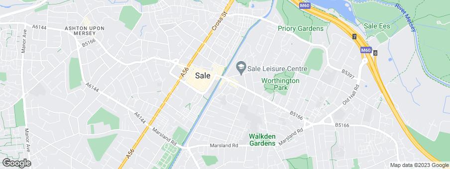 Map for Churchill Retirement Living - Midlands