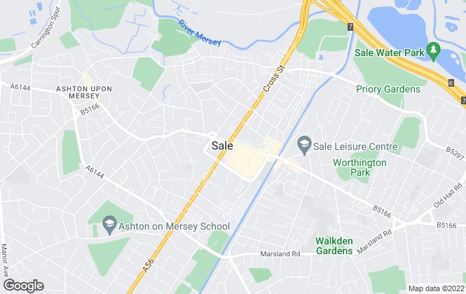 Map for Bridgfords, Sale