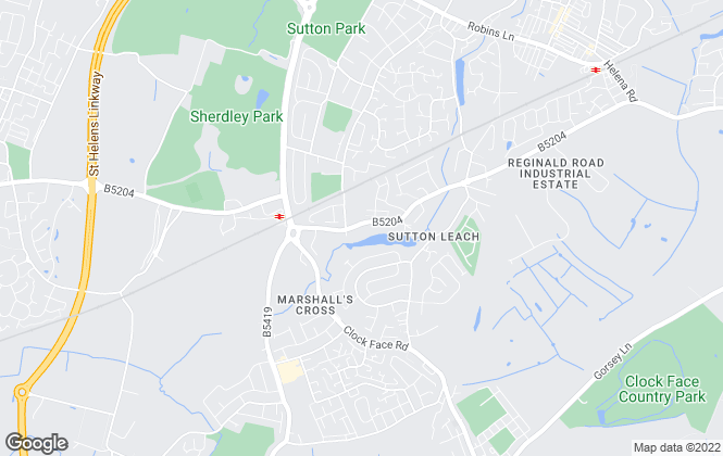 Map for Hobsons Estate Agents , Newton-Le-Willows
