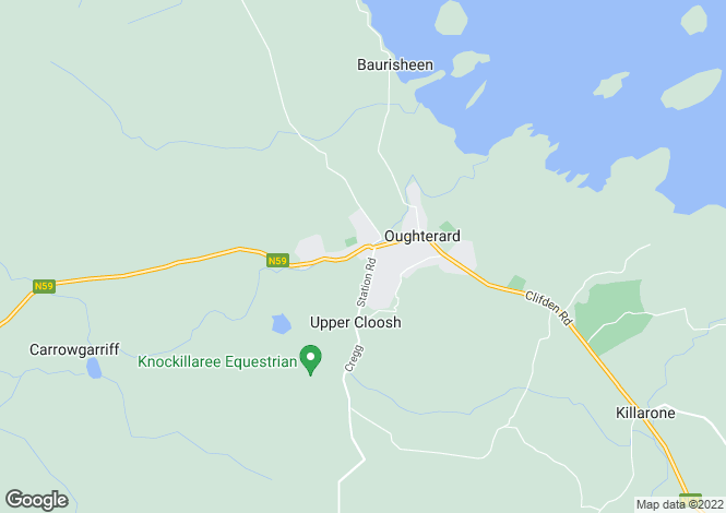 Map for The Grove, Canrawer East, Oughterard, Galway H91 NV2P