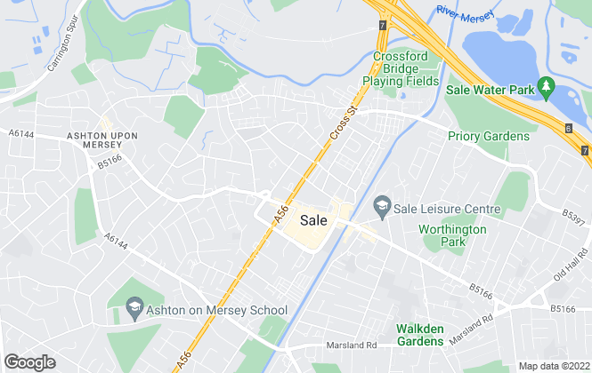 Map for Northwood, Sale
