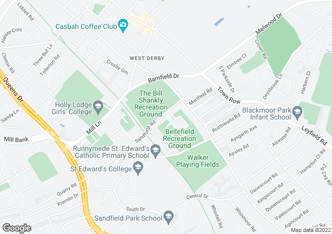 Map for Sandforth Road,