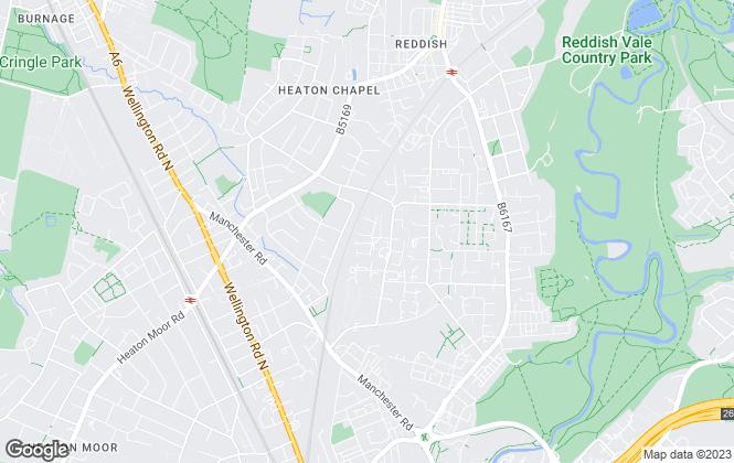 Map for WPF Properties Ltd, Manchester