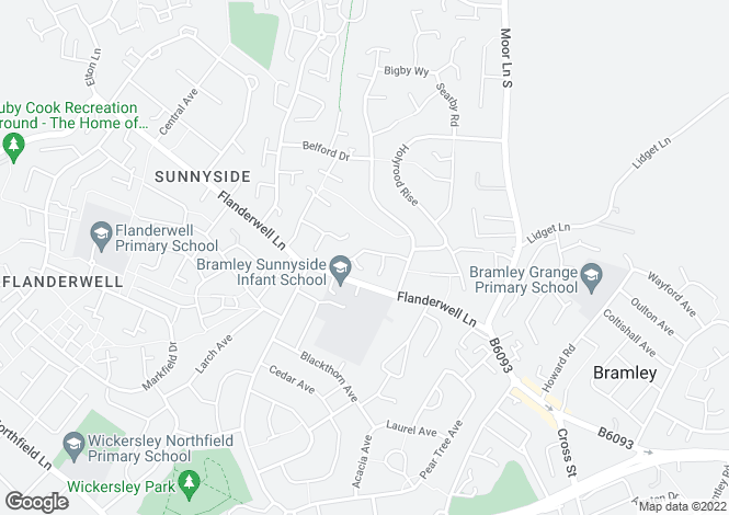 Map for Ferndale Drive,