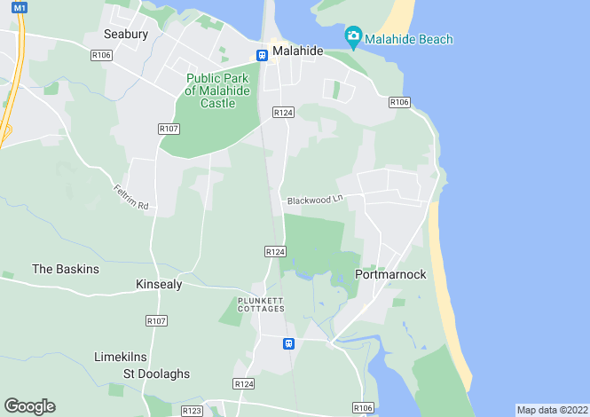 Map for Briarsfield, Blackwood Lane, Blackwoods, Malahide, Co Dublin, K36 VK63