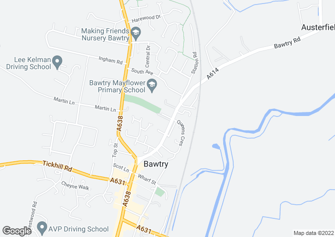 Map for Station Road, Bawtry, DONCASTER