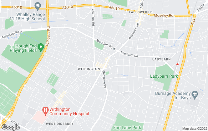 Map for Stanton Properties , Manchester