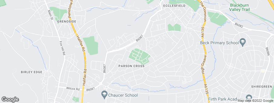 Map for Gleeson Homes (South Yorkshire)