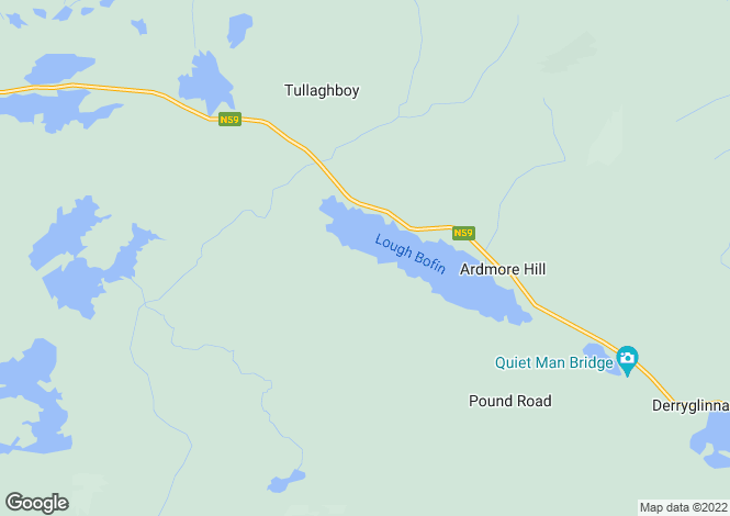 Map for Island View Cottage, Leam West, Recess, Co. Galway H91Y29R