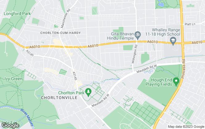 Map for Elm & co., Chorlton
