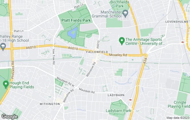 Map for homes4u, Fallowfield - Lettings