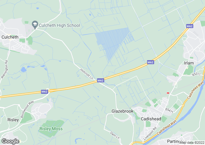 Map for Holcroft Lane, Culcheth, Warrington, Cheshire, WA3 5AT