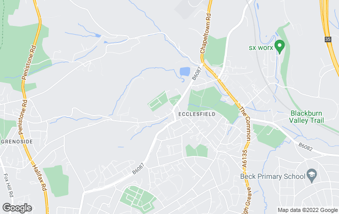 Map for Pinks Homes, Ecclesfield