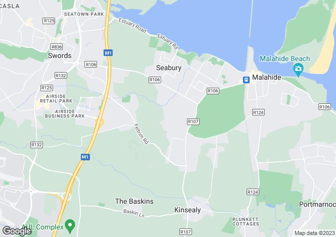Map for 49 Abington, Malahide, Co. Dublin
