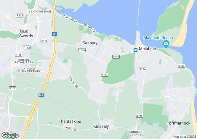 Map for Site No. 4, Abington, Malahide, Co Dublin