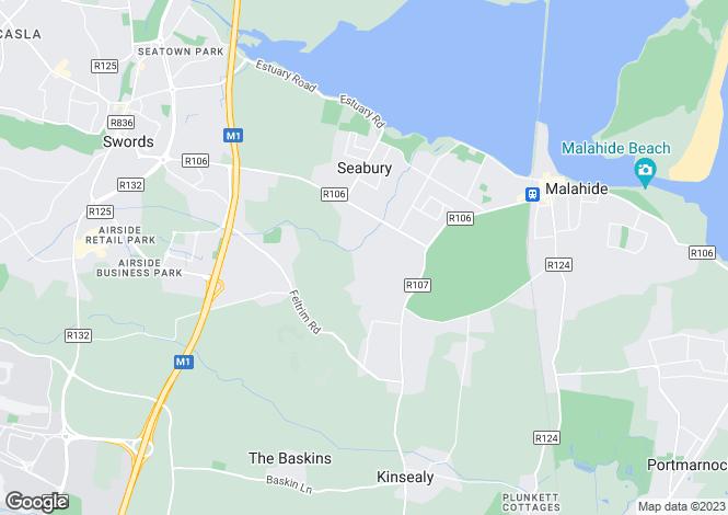 Map for 35 Abington, Malahide, Co Dublin, K36 EH24