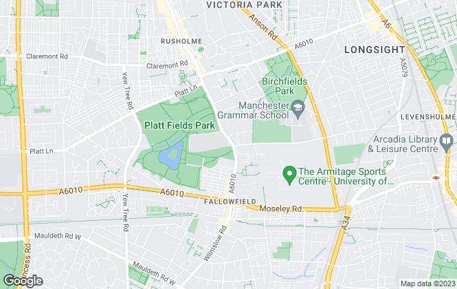 Map for Astute Estates Ltd, Manchester