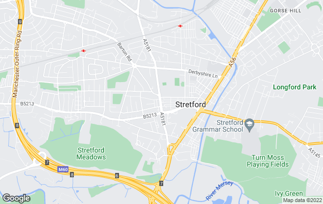 Map for Trading Places, Stretford