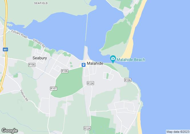 Map for Malahide, Dublin