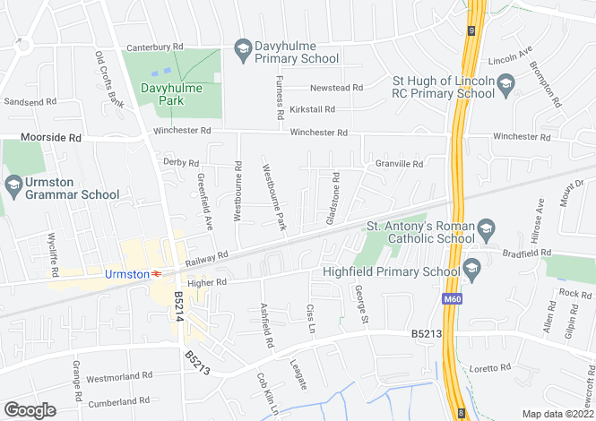 Map for Oak Grove,