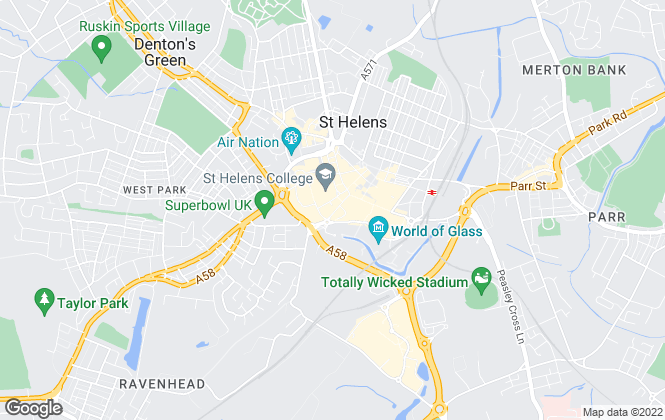 Map for Little Estate Agents, St Helens