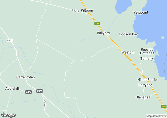 Map for Curraghmore, Kiltoom, Roscommon