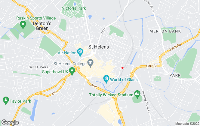 Map for Gilbertson Estate Agent, St. Helens - Lettings