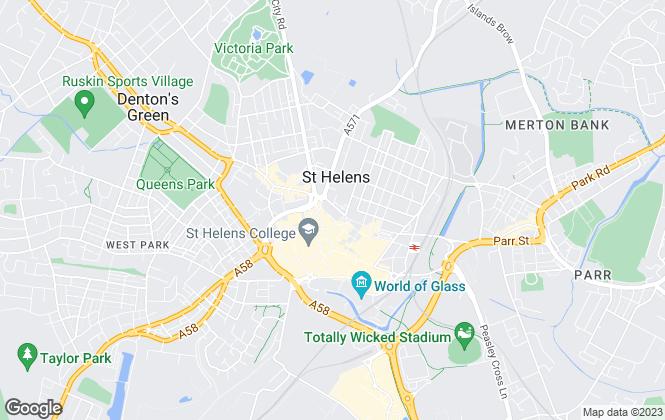 Map for Stapleton Derby, St Helens