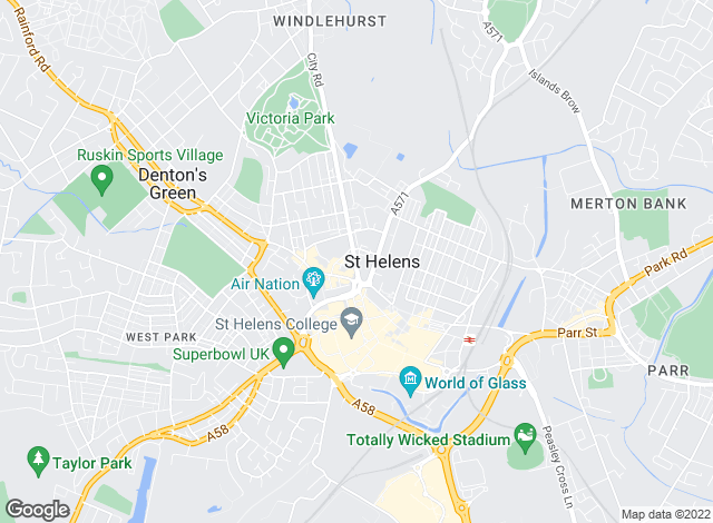 Map for King Property Management, St Helens