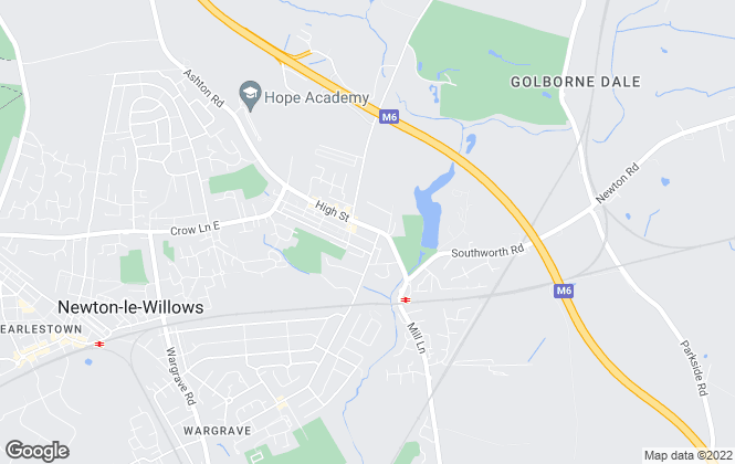 Map for Hobsons Estate Agents , Newton-Le-Willows - Sales