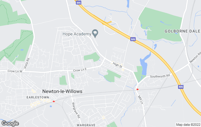 Map for Sci-Tech Daresbury, Newton-le-Willows