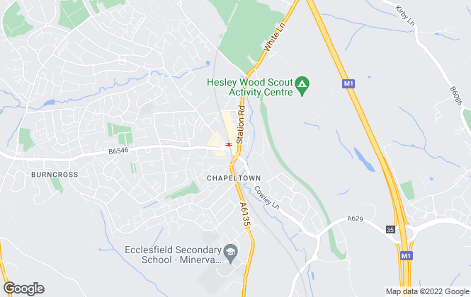 Map for Your Move , Chapeltown